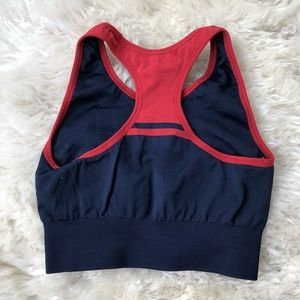 LNDR Intimates & Sleepwear - LNDR Navy & Red Seamless Sports Bra